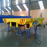 20ton Steel Wheel Battery Rail Flat Transfer Car with CE&ISO