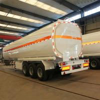 Cheap 35000 litres edible oil tanker trailer 12 tires tanker semi trailer for sale