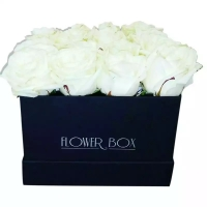 Cheap Square cardboard box popular kraft paper flower box preserved rose box for sale