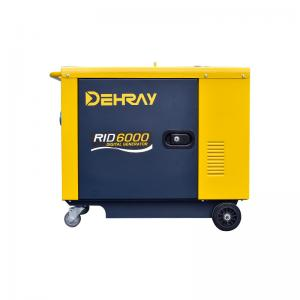 Cheap EPA 5KVA Electric Start Inverter Generator Quiet Running Three Phase for sale