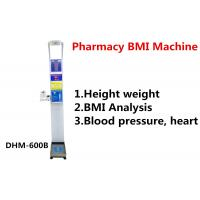 Cheap body analyzer body fat scale CE Approved Russia and Ukrainian Height weight scale for sale