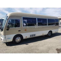 Cheap 92L Year 2017 20 Seats Gasoline Used Toyota Coaster Bus for sale