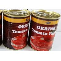 Buy cheap tomato paste price canned tomato paste/sauce/puree ketchup with brix 28-30% from wholesalers