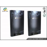 Cheap Black Foldable Paper Electronic Product Packaging Box High Quality Customized for sale