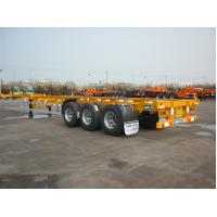 Cheap Skeletal chassis 40ft container trailer price China manufacturer for sale