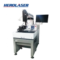 Cheap Herolaser Integrated Structure 50W Laser Printing Machine On Metal for sale