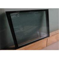 Cheap Fine Polished Edge Low E Glass Size / Thickness Customized For Curtain Wall for sale