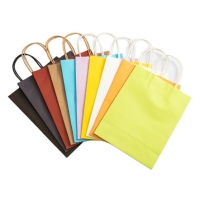 Cheap Shock Resistance 120gsm Paper Gift Bags With Handles for sale