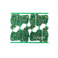 Cheap High Frequency Fr4 Double Sided Rigid PCB Fabrication and Design Service 6 Layer for sale