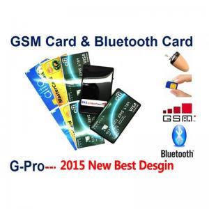Cheap 2015 صندوق بطاقة GSM مع شحن لاسلكية صغيرة سماعة الأذن الصغيرة سماعة مجموعة كاملة 2 الطريق الاتصالات الحرة for sale