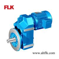 Cheap F series Shaft Mounted Helical Geared Motor for sale