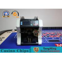 China Metal Plastic Baccarat Gambling Systems Mixed Denomination Currency Counter on sale