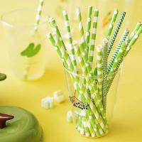 Cheap Compostable colorful bamboo paper straws product by wuxi factory for sale