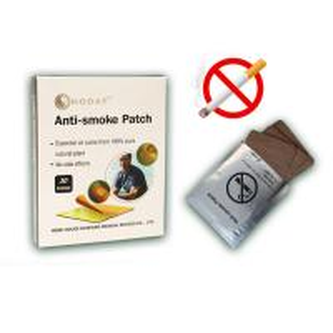 Zero nicotine herbal antismoking patches for jackets