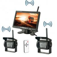 Cheap Security Vehicle Reversing Systems Wireless 400/1 Rearview Camera 7 Inch Monitor for sale