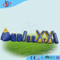 Cheap Inflatable Sports Games  , 0.9mm Plato PVC Inflatables Obstacle Games for Children Pak for sale