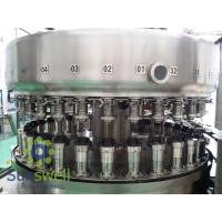 Cheap Powerful  Automatic Aluminum Can Filling Machine For Beverage Juice / Beer Soda for sale