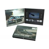 Cheap Print Your Artwork LCD Video Brochure Video Greeting Card with Memory of 128MB to 8GB to Play Your Videos for sale