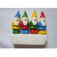 Cute Christmas Party Decoration Pick Candles Santa Claus Shaped Art Candles Manufactures