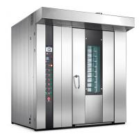 Cheap Electric 32 Tray Bread Baking Oven Gas Rotary Oven For Baking Food Production for sale
