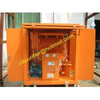Cheap transformer oil purifier with car wheels,Movable Insulation Oil Filtration Machine,enclosed insulating oil filter unit for sale