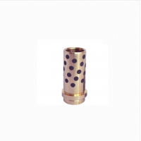 Cheap Oilless Brass Graphite Guide Pin Bushing for sale