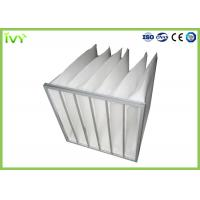 Buy cheap Customzied Replacement Air Filter Bag Type Synthetic Fiber Filter Media from wholesalers