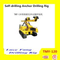 Cheap China Hot Multi-function TMY-120 Mobile Crawler Hydraulic Percussion Anchor Drilling Rig for sale
