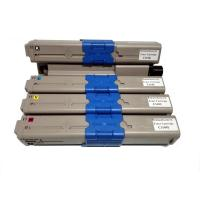 Cheap Remanufactured for OKI 44973545/ 44973546/ 44973547/ 44973548 Color Toner Cartridges for sale
