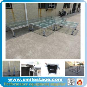 Cheap Adjustable Stage Platform Outdoor Stage Platform for Performance Distributor for sale