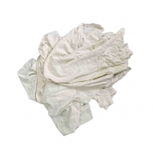Cheap 55cm White Rags 10kg for sale