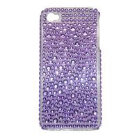 Cheap Purple Diamond Case Cover For Apple Iphone 4G/4GS for sale