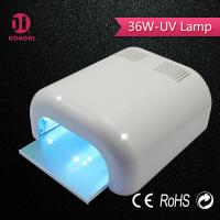 China 2016 wholesale CE &  RoHS quality assured manicure 36w uv gel lamp on sale