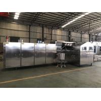 Cheap Continuous Operate Ice Cream Cone Baking Machine Temperature Control Freely for sale