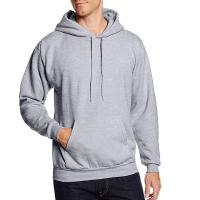 Buy cheap Men 300grams 100% cotton soft jersey fleece athletic pullover hoodie sport from wholesalers