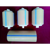 Cheap Waterproof Cement Plant Nylon Conveyor Rollers / Small Diameter Conveyor Rollers for sale