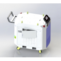 Cheap 500W 0.8Mpa Laser Descaling Machine , Laser Paint And Rust Removal Tool for sale