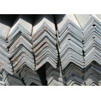 Industrial Rolled Equal Angle Steel Section / Mild Steel Sections GB Standard Manufactures