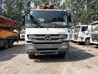 Cheap BENZ--ZOOMLION Second Hand Concrete Mixer Trucks With Euro IV Diesel Engine for sale