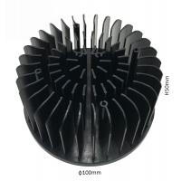 Cheap Cold Forging Compact Round Extruded Aluminum Heatsink For Led Light for sale