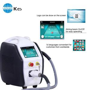 Cheap 1000mJ Q Switched Nd Yag Laser Tattoo Carbon Peeling Machine for sale