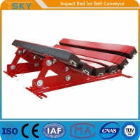 Cheap SGS Conveyor Impact Bed for sale