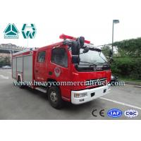 Cheap 25 CBM 4 Tons Dongfeng High Speed Fire Fighting Truck  With Fire Pumps for sale