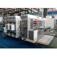Buy cheap ZL 900X2200 Automatic Flexo Water Iink Printer Slotter Machine for Corrugated from wholesalers