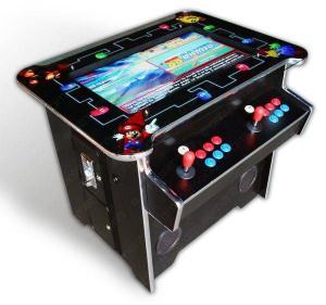 Cheap multi arcade game cocktail machine for sale