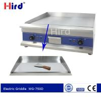 Cheap CE Griddle electric Indoor griddle Table top griddle electric for Catering supplies  WG-750D for sale