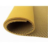 Cheap Textured Natural Rubber Yoga Mat With Mesh Fabric, Non-Slip for sale