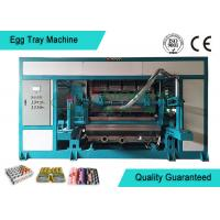 Cheap Automated Rotary Egg Tray / Fruit Tray Moulded Machine 4000pcs/h for sale