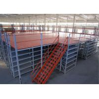 Cheap Color Customized Steel Structure Platform or Garret For Warehouse Storage Racking for sale
