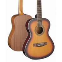 Cheap 36 inch 3/4 Size Spruce Solidwood Western Guitar / Wood Acoustic Guitar TP-AG08 for sale